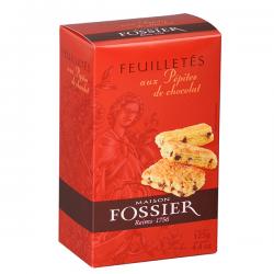 Biscuits feuilletés aux pépites de chocolat