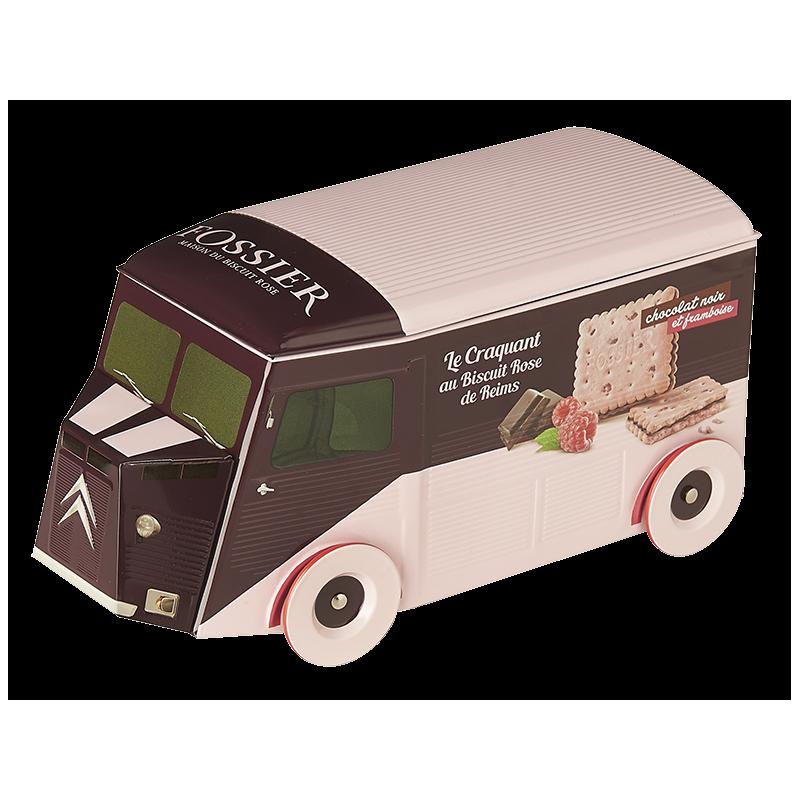 Camion Citroën - Craquant au Biscuit Rose chocolat framboise