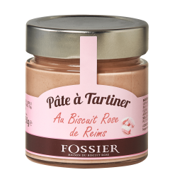 Pâte à tartiner au Biscuit Rose