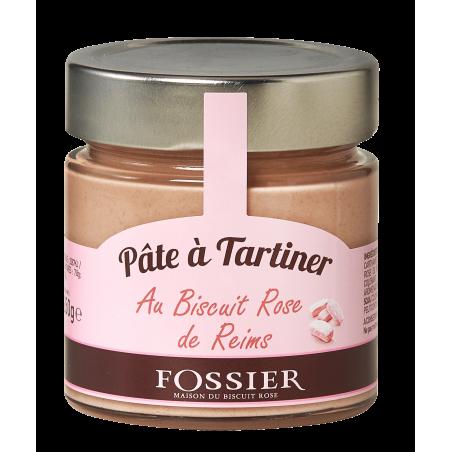 Pâte à tartiner au Biscuit Rose Fossier
