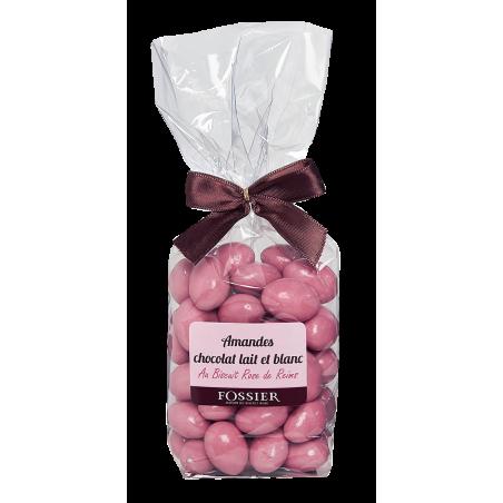 Amandes chocolat Biscuit Rose Fossier